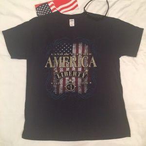 Graphic Blue T-Shirt